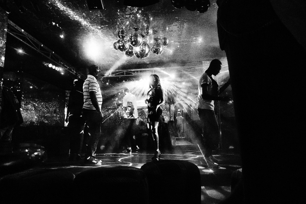 Disco Ntemba, a club of the Gombe neighbourhood (Kinshasa) - 2011